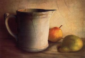 PEARS AND PITCHER by Sally Wetherby