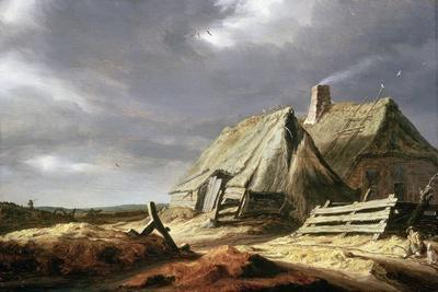 Farm Buildings in a Landscape, C.1625-28