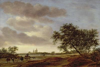 Landscape with Egmond Abbey in the Distance, 1657