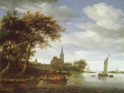 River Scene, 1663