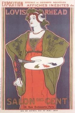Salon des Cent Poster
