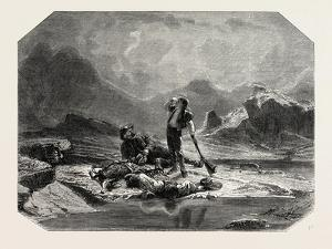 Salon of 1855, Swiss School, Stop Hunting Chamois