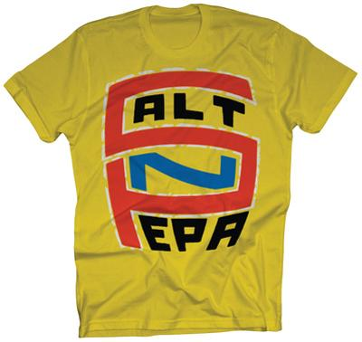 Salt-N-Pepa - S-N-P Logo on Yellow