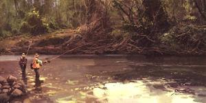 Upstream by Salvador Caballero