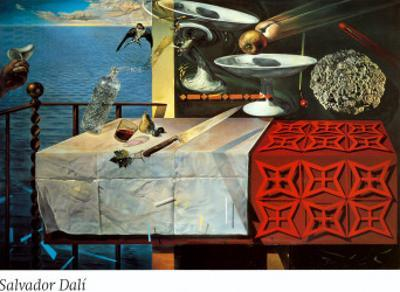 A Lively Still Life by Salvador Dalí