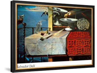 A Lively Still Life by Salvador Dalí