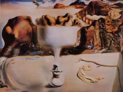 Apparition of a Face and Fruit Dish on a Beach, c.1938 by Salvador Dalí
