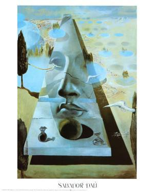 Apparition of the Face of Aphrodite by Salvador Dalí