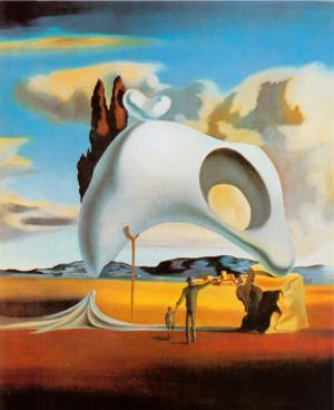 Atavistic Vestiges after the Rain, 1934 by Salvador Dalí