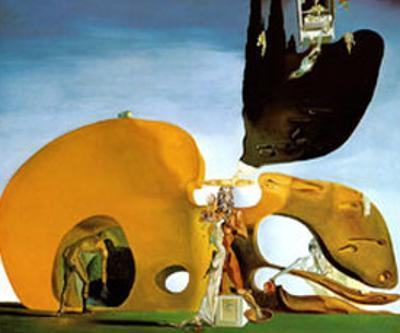 Birth of Liquid Desires, c.1932 by Salvador Dalí