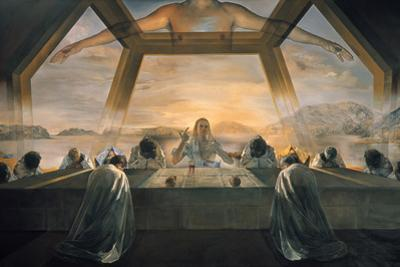 Dali: Last Supper, 1955 by Salvador Dalí