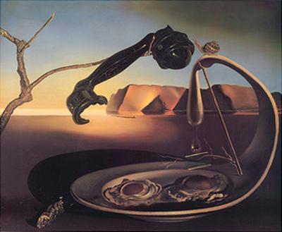 Der erhabene Augenblick by Salvador Dalí