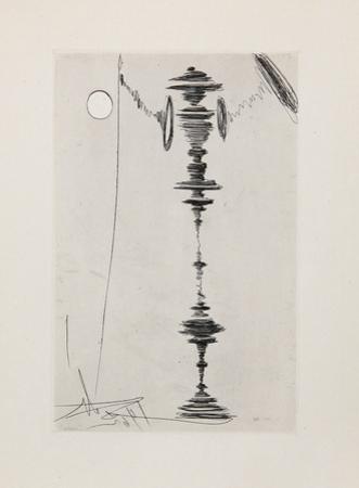 Deux Fatraises (Spinning Man) by Salvador Dalí