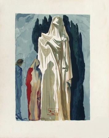 Divine Comedie, Enfer 10: Les Heretiques by Salvador Dalí