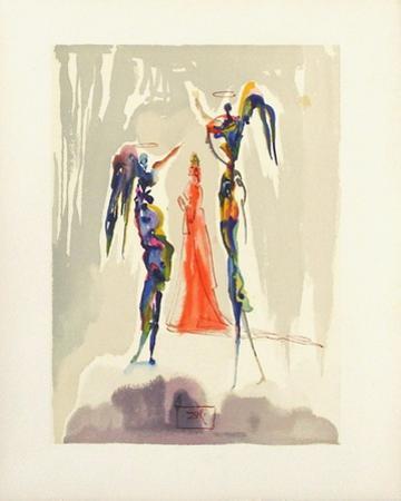 Divine Comedie, Paradis 27: Gloria Patri by Salvador Dalí