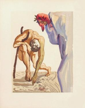 Divine Comedie, Purgatoire 07: Les Princes De La Vallée by Salvador Dalí