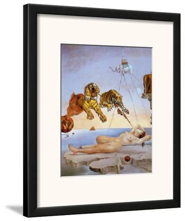 Dream Caused by the Flight of a Bee a Second Before Awakening by Salvador Dalí