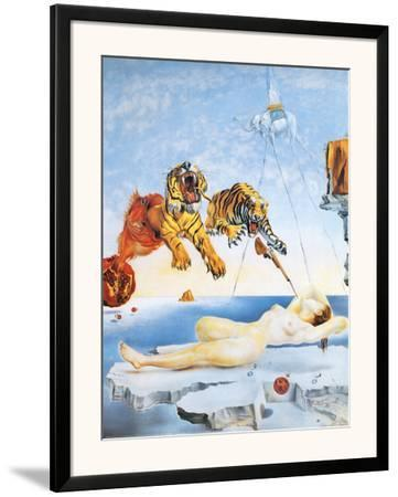 Dream Caused by the Flight of a Bee around a Pomegranate, c. 1944 by Salvador Dalí