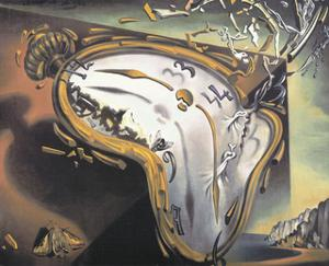 Explosion by Salvador Dalí