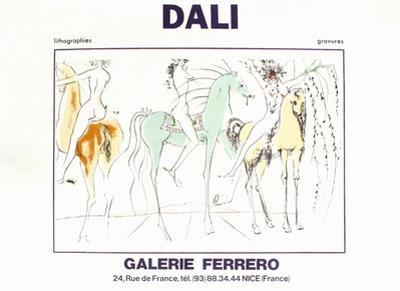 Expo Galerie Ferrero 3 by Salvador Dalí