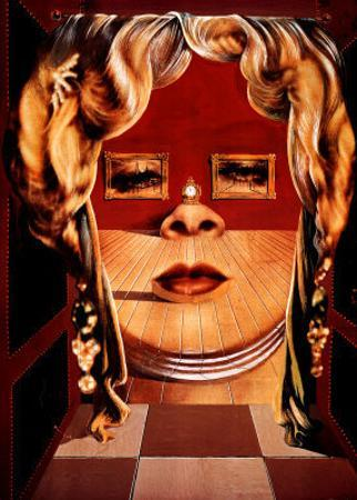 Face of Mae West, c.1935 by Salvador Dalí
