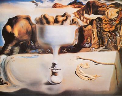 Fruit Dish by Salvador Dalí