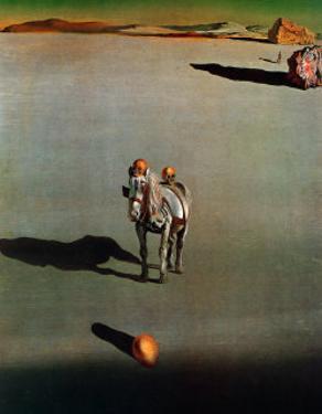 Le Devenir Geologique by Salvador Dalí