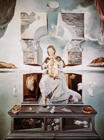 Madonna of Port Lligat by Salvador Dalí