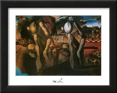 Metamorphosis of Narcissus by Salvador Dalí