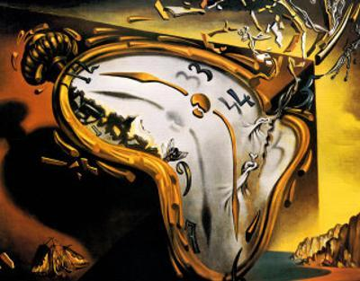 Montre Molle au Moment by Salvador Dalí