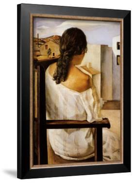 Muchacha de Espalda by Salvador Dalí