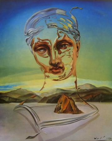 Naissance d'Une Divinite by Salvador Dalí