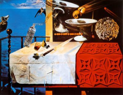 Nature Morte Vivente by Salvador Dalí