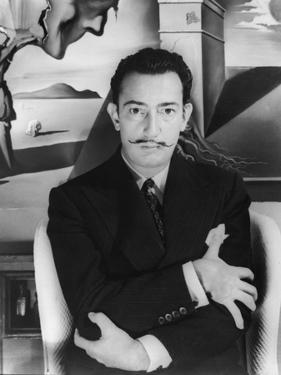 "Salvador Dalí. Off Set From ""Spellbound"" 1945"""