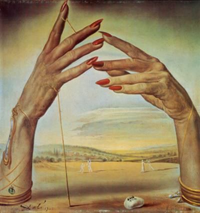 Portrait d'une Femme Passionate, 1945 by Salvador Dalí