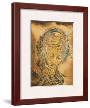 Raphaelesque Head Exploded by Salvador Dalí