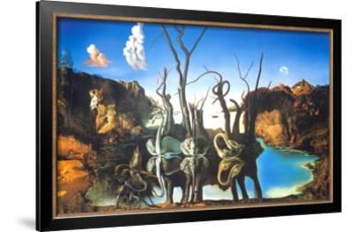 Reflections of Elephants by Salvador Dalí