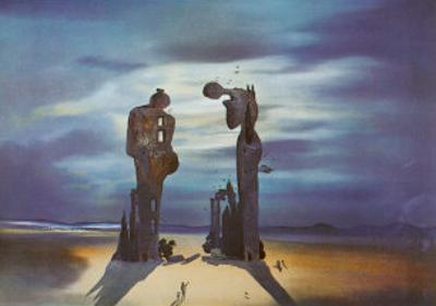 Reminescence Archeologique de l'Angelus de Millet, 1935 by Salvador Dalí