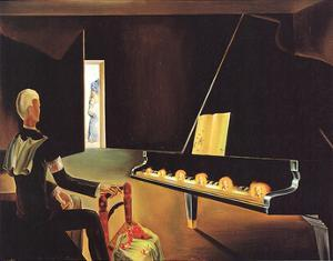 Six Appearances Of Lenin On A Piano by Salvador Dali