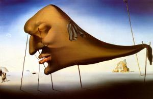 Sommeil by Salvador Dalí
