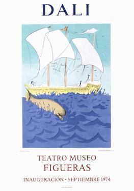 Teatro Museo Figueras 2 by Salvador Dalí