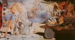 The Apotheosis of Homer by Salvador Dalí