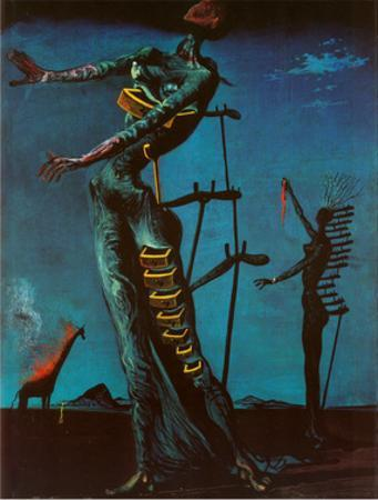 The Burning Giraffe, c. 1937 by Salvador Dalí