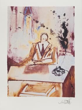 The Businessman by Salvador Dalí
