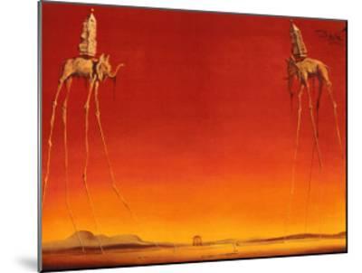 The Elephants, c.1948 by Salvador Dalí