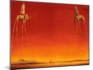 The Elephants, c.1948 by Salvador Dalí