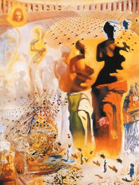 The Hallucinogenic Toreador, c.1970 by Salvador Dalí