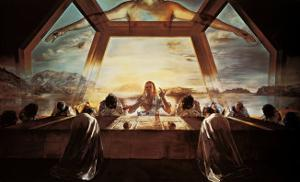 The Sacrament of the Last Supper, c.1955 by Salvador Dalí