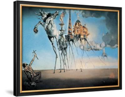 The Temptation of St. Anthony, c.1946 by Salvador Dalí