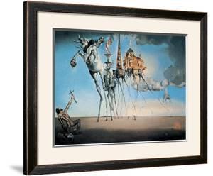 The Temptation of St. Anthony, c.1946 by Salvador Dalí